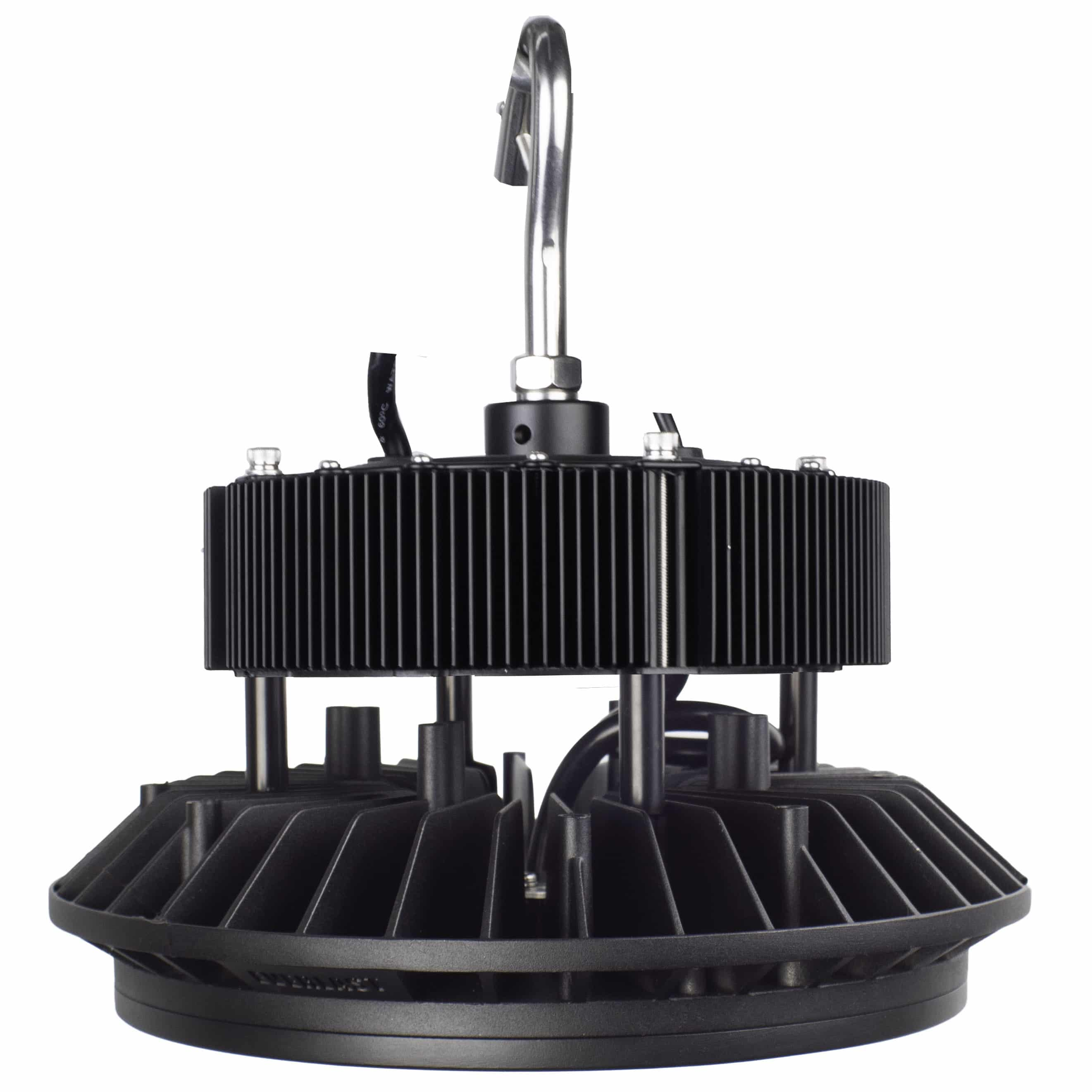 Black EverLast Lighting UFO style high temp high bay light with no reflector